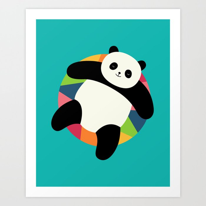 Discover the motif CHILLIN by Andy Westface as a print at TOPPOSTER