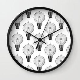 Vintage Light Bulbs Neck Gator Globe Light Bulb Wall Clock