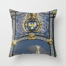 A Royal Gate Throw Pillow