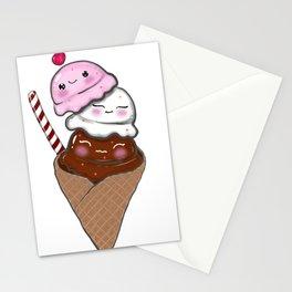 Happy Ice Cream Stationery Cards