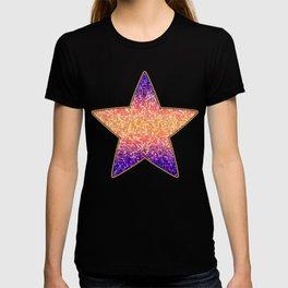 Glitter Graphic Background G106 T-shirt