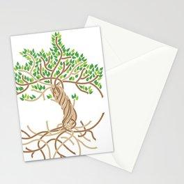 Rope Tree of Life. Rope Dojo 2017 white background Stationery Cards