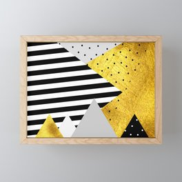 fall abstraction #4 Framed Mini Art Print