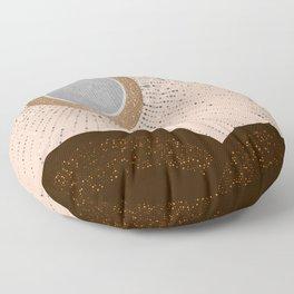 Rays of Love - Silver Bronze Floor Pillow