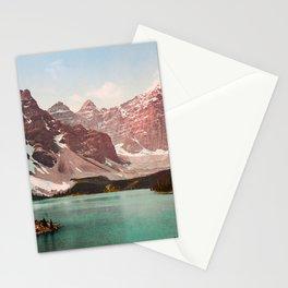 Moraine Lake - Alberta Canada - Circa 1903 Photochrom Stationery Cards