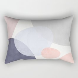 Pastel Shapes III Rectangular Pillow