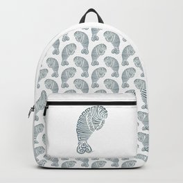 Tribal Manatee Backpack