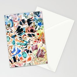 Mosaic of Barcelona VI Stationery Cards