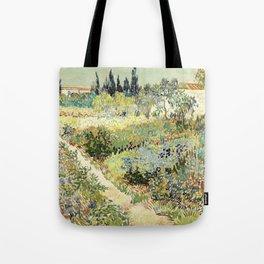 Vincent Van Gogh : Garden at Arles Tote Bag