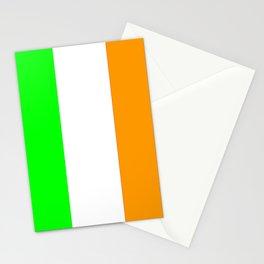 flag of ireland 5 -ireland,eire,airlann,irish,gaelic,eriu,celtic,dublin,belfast,joyce,beckett Stationery Cards