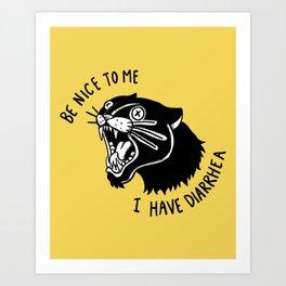Panther Poop Kunstdrucke