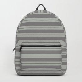 Benjamin Moore Cinder Dark Gray AF-705 and Color of the Year 2019 Metropolitan Stripes Backpack
