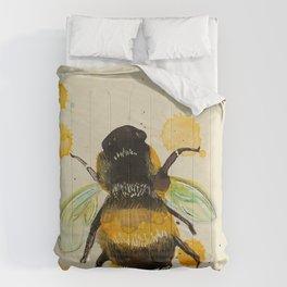 Bumble Bee Drip Comforters