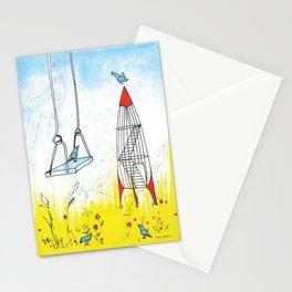 Rocket Playground, Nebraska Memory Stationery Cards