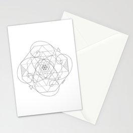 Fibonacci Geometric Mandala Stationery Cards
