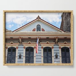 New Orleans American Creole Cottage Serving Tray