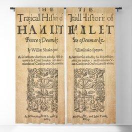 Shakespeare, Hamlet 1603 Blackout Curtain
