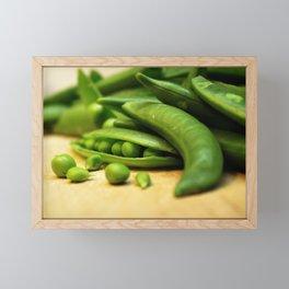 Pea Pods Framed Mini Art Print