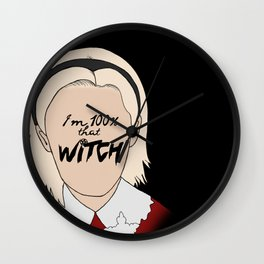That Witch, Sabrina Wall Clock