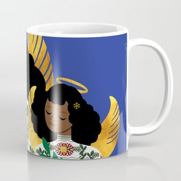 Holly Angel Coffee Mug