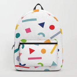 geometric funfetti Backpack