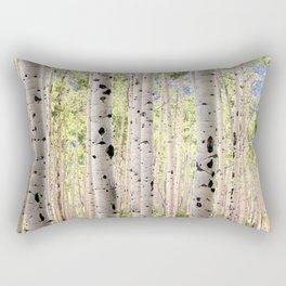 Dreamy Aspen Grove Rectangular Pillow