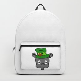 Leprechaun Tapir- St. Patricks Day Backpack