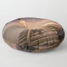 male nude art Floor Pillow