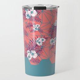 Tropical Fluo Tiles Travel Mug