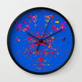 Letting Go: Light Blue Wall Clock