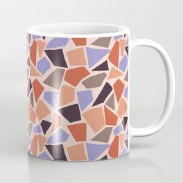 Mosaic pattern with geometrical shapes Coffee Mug