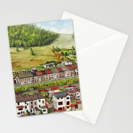 Cwm Parc, Treorchy, South Wales Valleys Stationery Cards