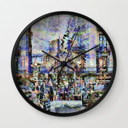 Joust amiably until mediation ensues. Indubitably. Wall Clock