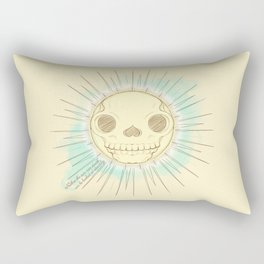 Neither the sun nor death can be looked at steadily Rectangular Pillow