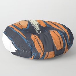 Wendigo bosaertig Floor Pillow