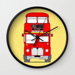 The Routemaster London Bus Wall Clock