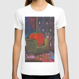 Therapy With A Tomato Milton Glaser - Tomato- Something unusual is going on here - 1978 T-Shirt