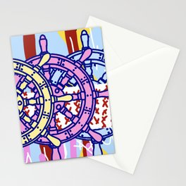 Sailors Wheel Stationery Cards