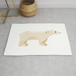 Origami Polar Bear Rug