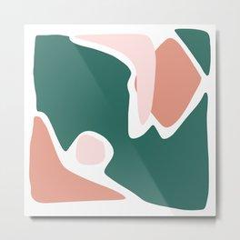 Shapes V - Part II Metal Print