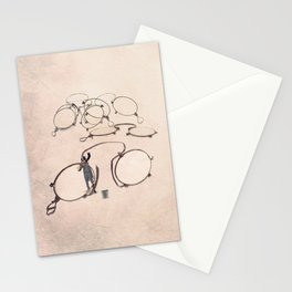 The specs cleaner Stationery Cards
