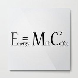 Formula Metal Print