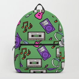 music pins Backpack