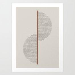 Geometric Composition II Art Print