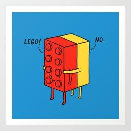 Le go! No Art Print