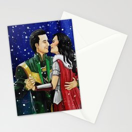 Winter's Welcome Stationery Cards