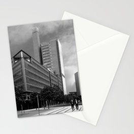 Marlene Dietrich Platz and Two Suits Stationery Cards