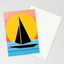 The Sailboat Stationery Cards