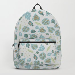 Pomegranates, beetles, berries Backpack