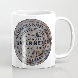 Street Water Meter - New Orleans LA Coffee Mug